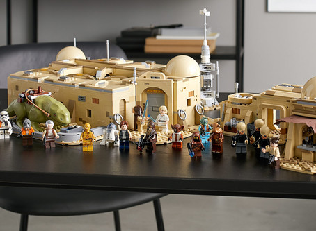 New LEGO Mos Eisley Cantina set (75290) has it where it counts, kid!