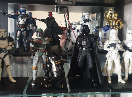 A Star Wars collection that covers  ground and SPACE, Holochronicles #ShowMeYourCollection challenge
