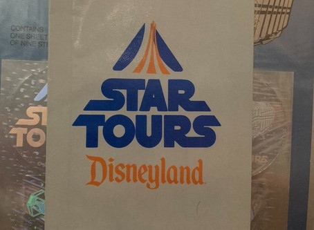 This week's Holochronicles #ShowMeYourCollection features a Star Tours tribute
