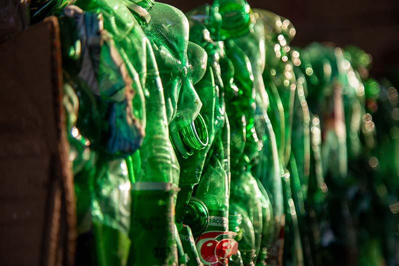 Valorização de materiais recicláveis koleta ambiental