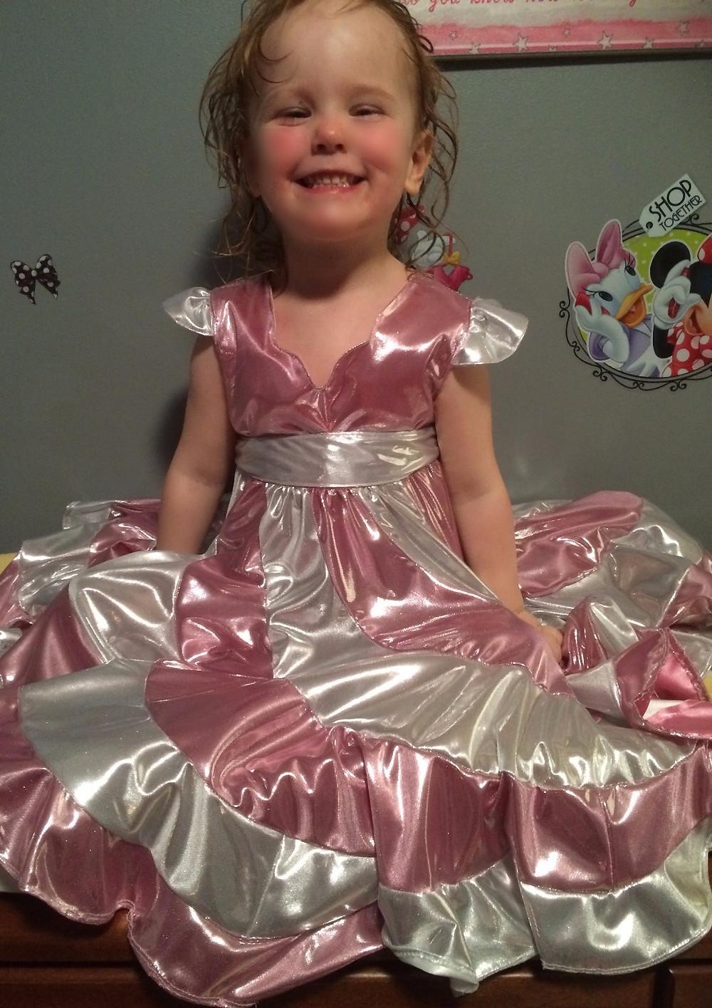 Maddie's Peppermint Swirl Dress