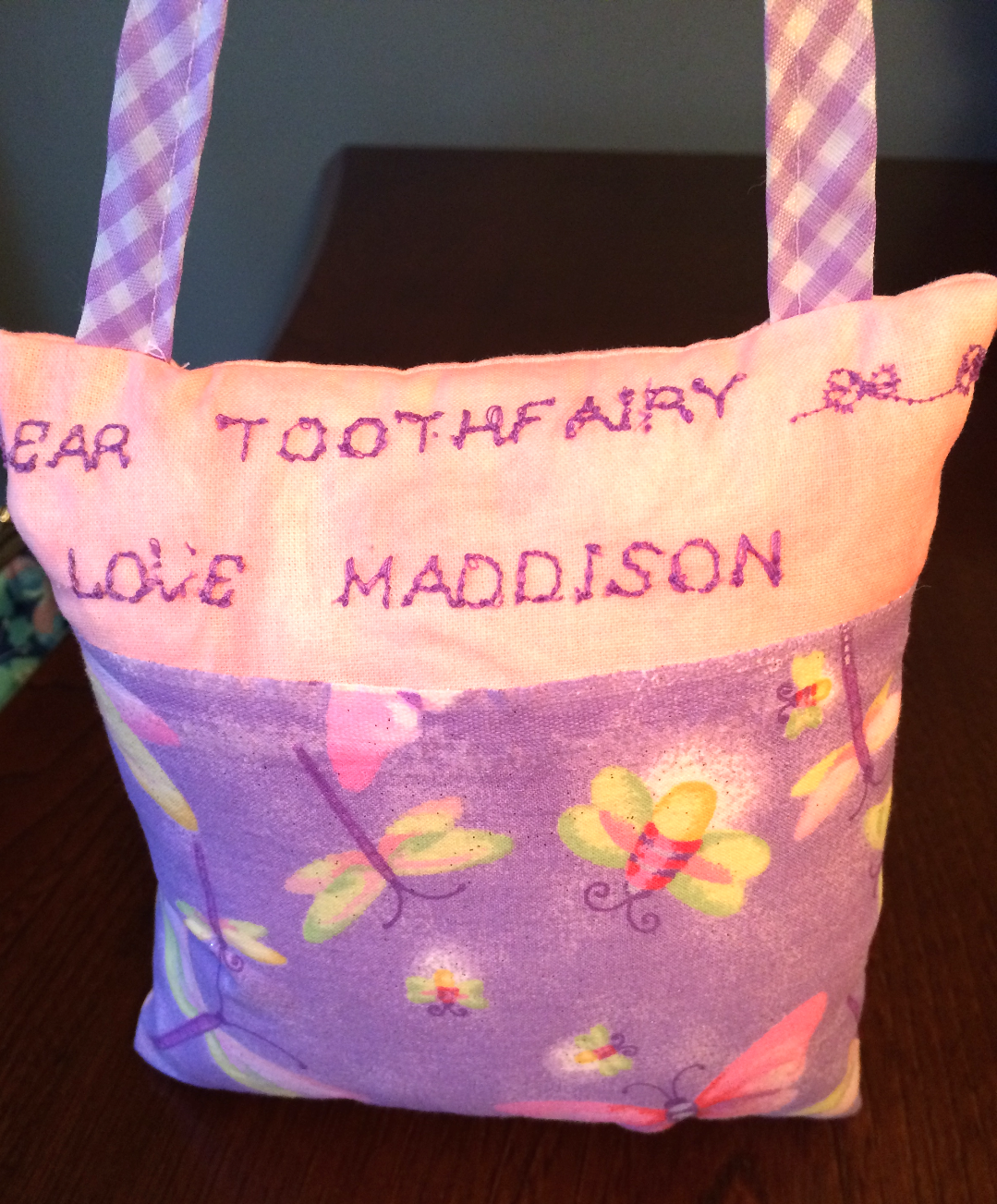 DIY Cute Tooth Fairy Pillow