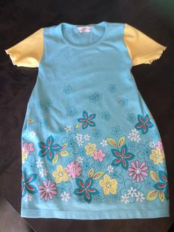 T-shirt to toddler nightdress