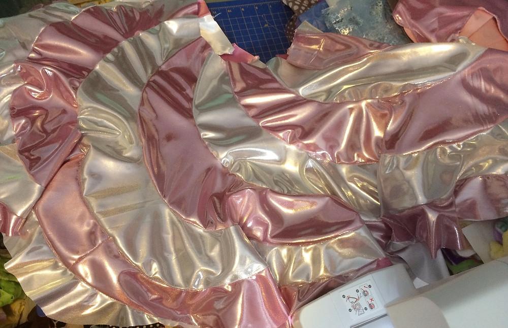 The peppermint swirl dress piece