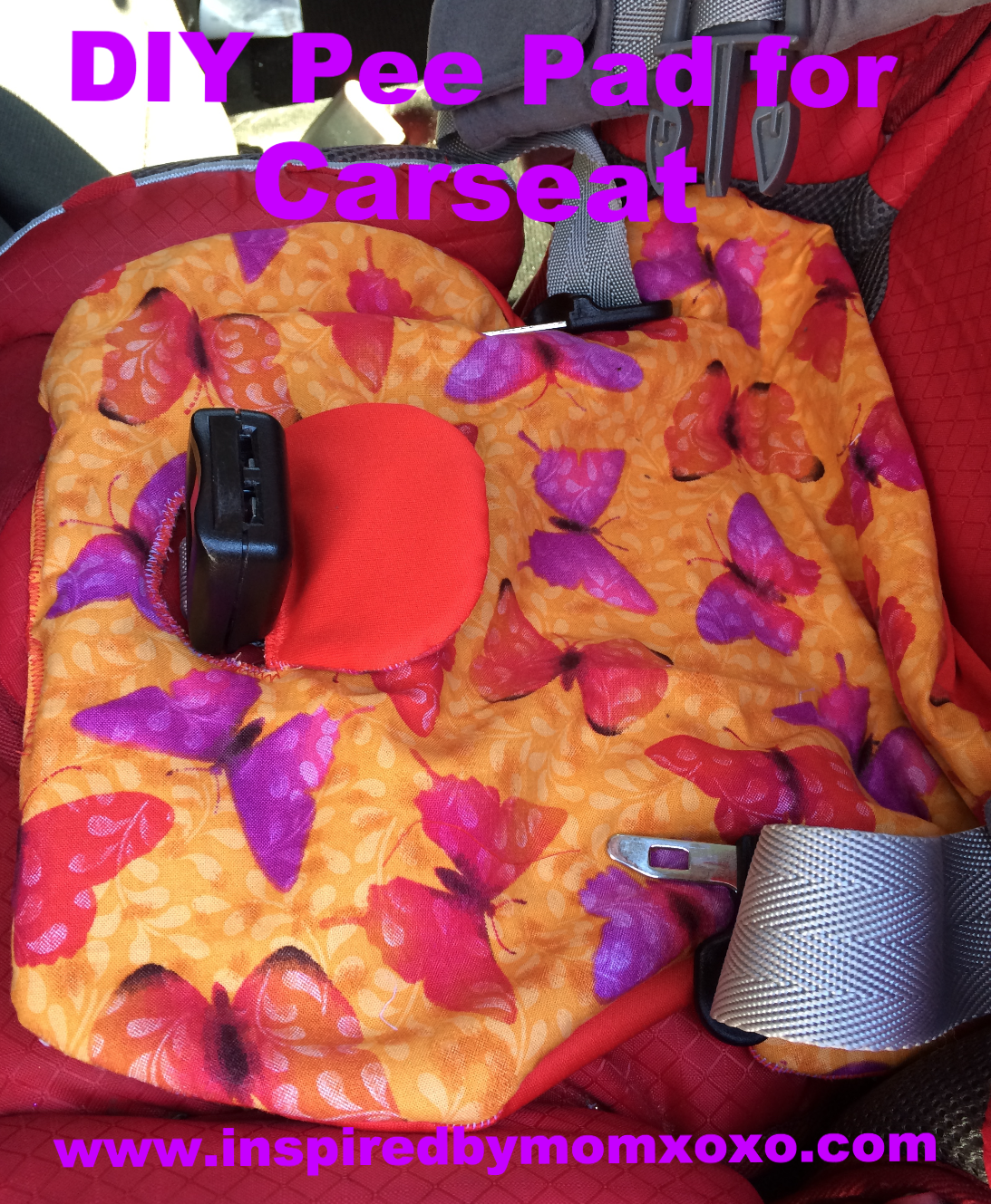 DIY Piddle Pad for Car Seat