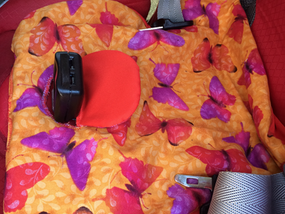 Tutorial: Potty training car seat pee pad