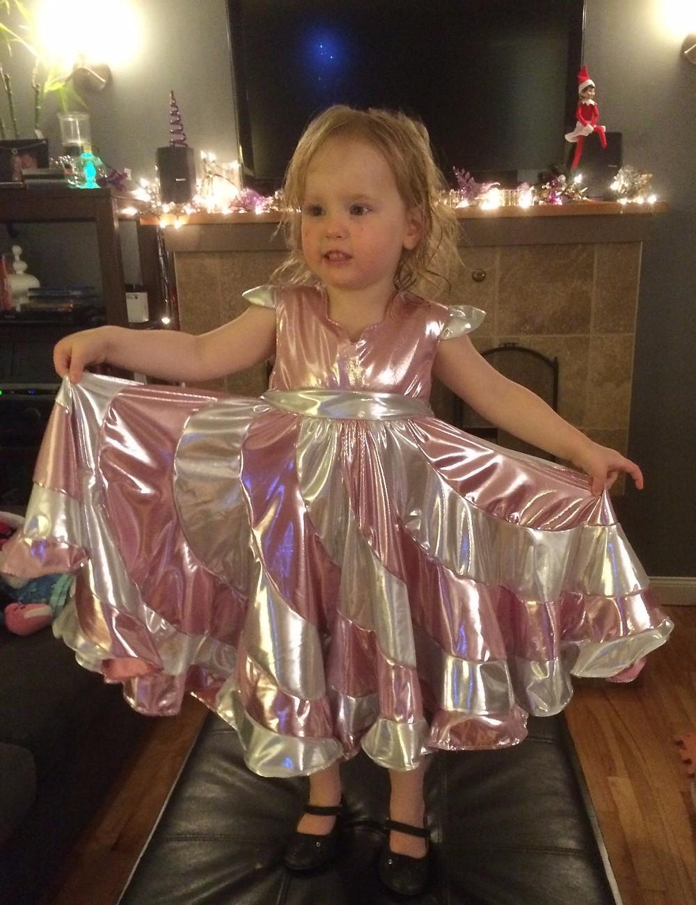 Miss Maddie's Pepperint Swirl Dress