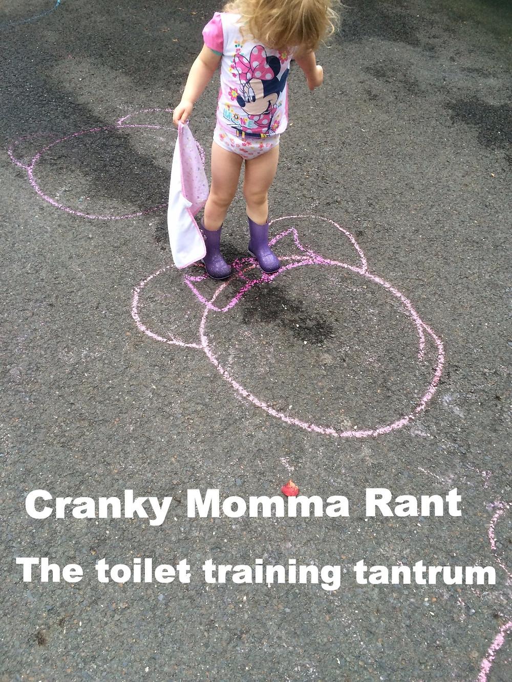 Cranky momma Rant The toilet training tantrum