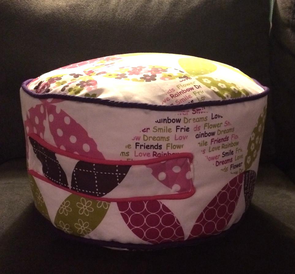 Inspiredbymomxoxo -Child's Bean bag cushion
