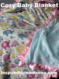Cozy crib blanket