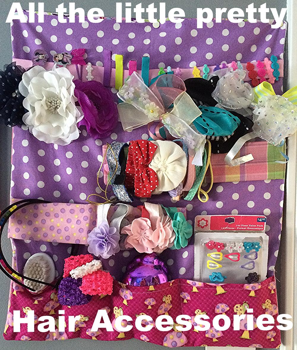 Tutorial Hair Accessory Holder