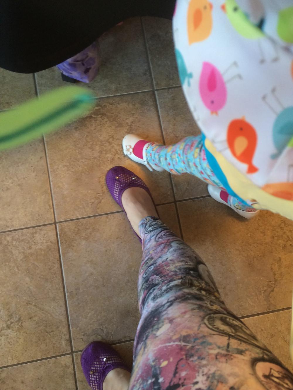 Matching leggings