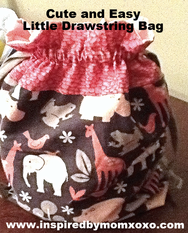 Cute little drawstring bag