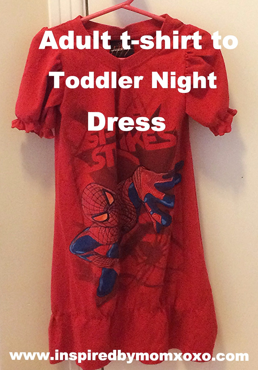 T-shirt to night dress