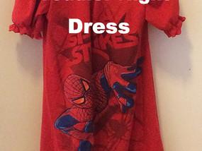Tutorial: Adult T-shirt to toddler night shirt