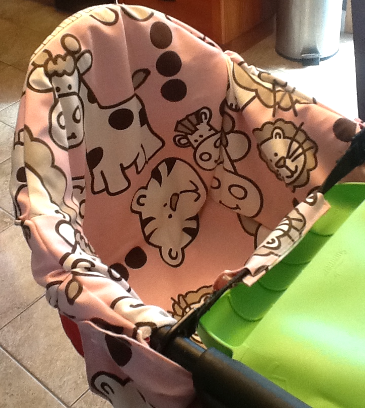 DIY High chair cover