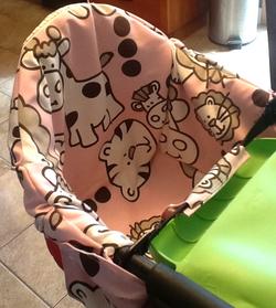 DIY High chair cover