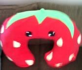 Nursing pillow cover strawberry