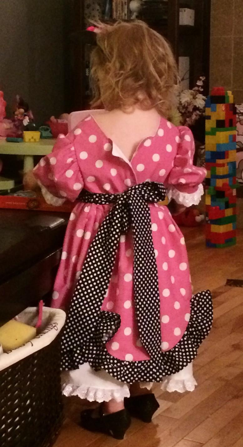 Miniie mouse dress