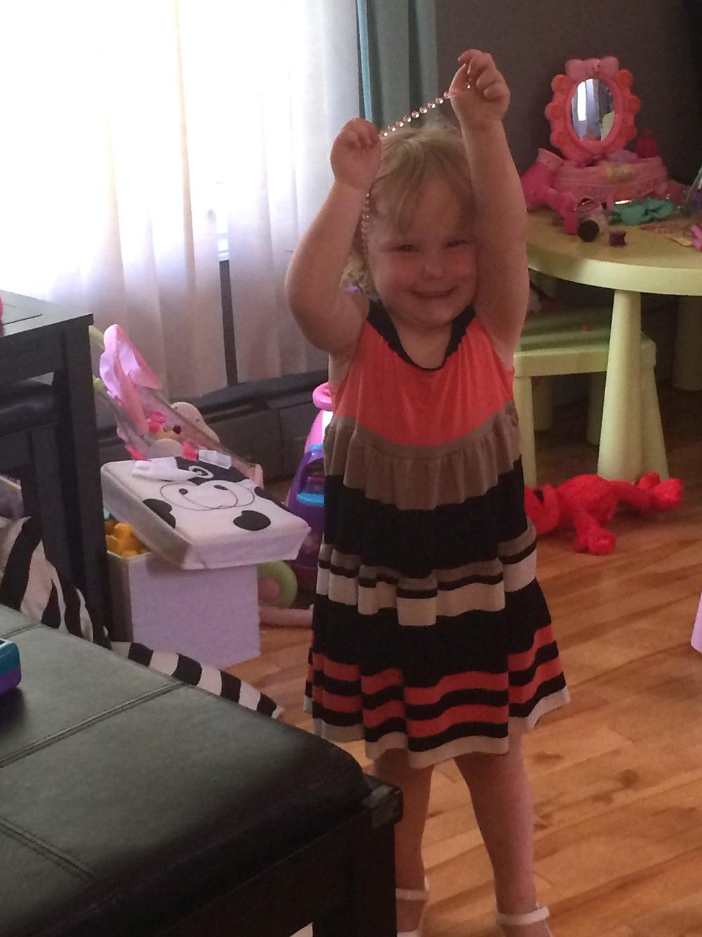 DIY Maxi dress for Maddie