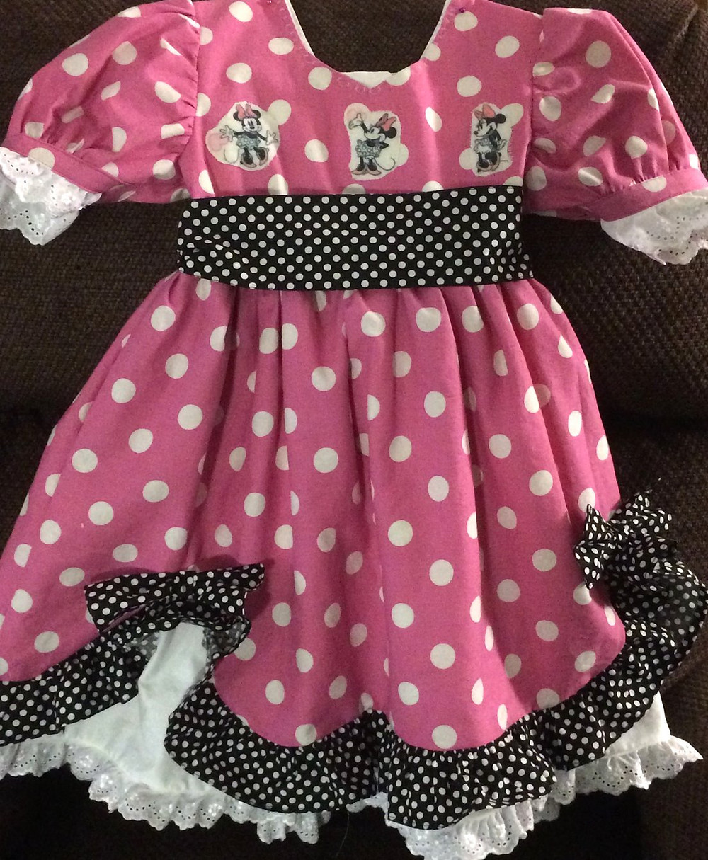 The Minnie Mouse Dress!!