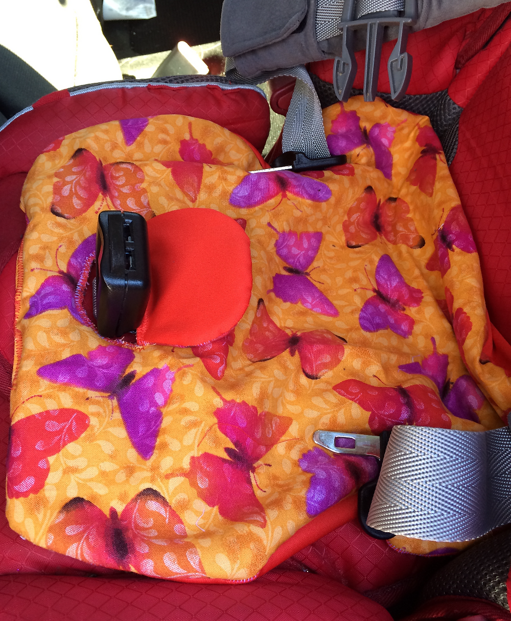 Tutorial DIY car seat pee pad