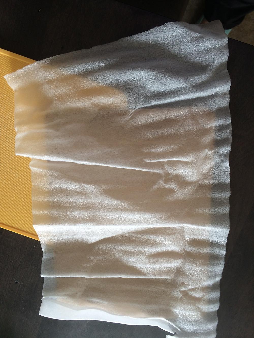 Flimsy foam for iPad cover
