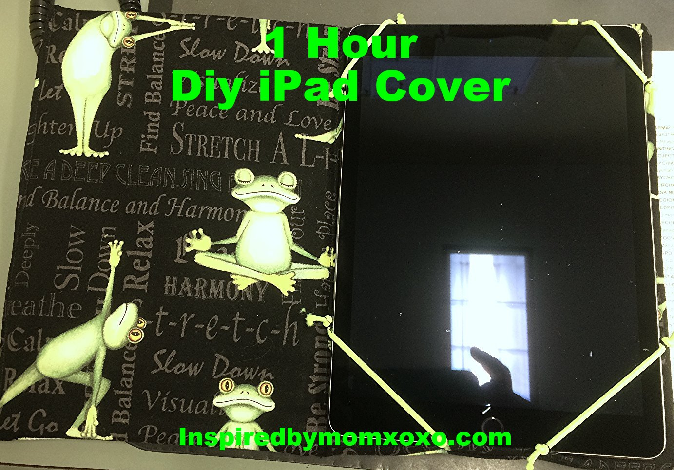 DIY iPad cover