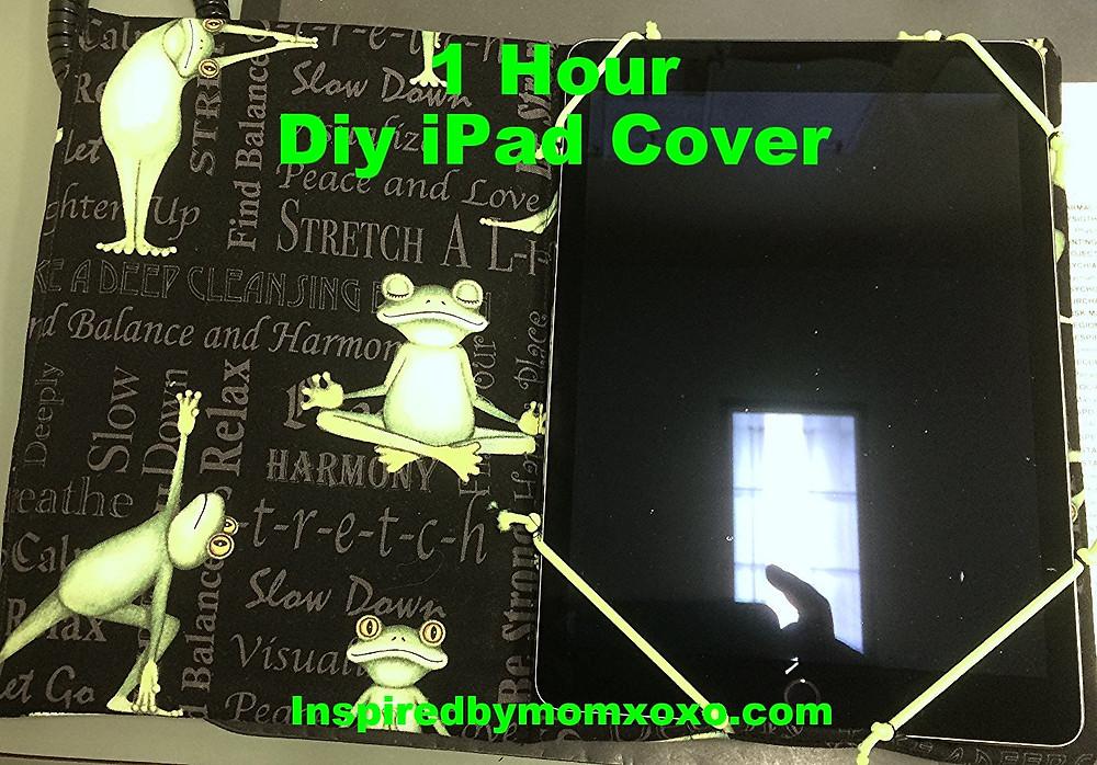 1 Hour DIY iPad cover