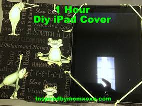 Tutorial: 1Hour DIY iPad Cover
