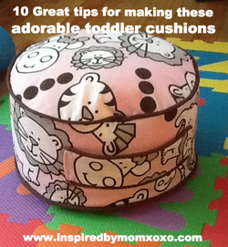 Toddler bean bag cushion