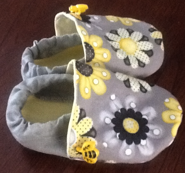 DIY Toddler Slippers