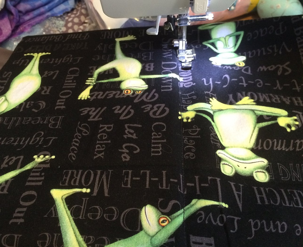 Sewing iPad cover