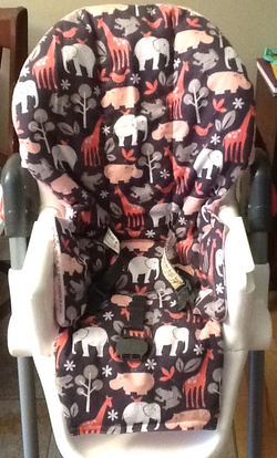 Highchair cover