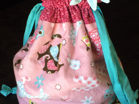 Sew it now: Check out this cute little drawstring bag
