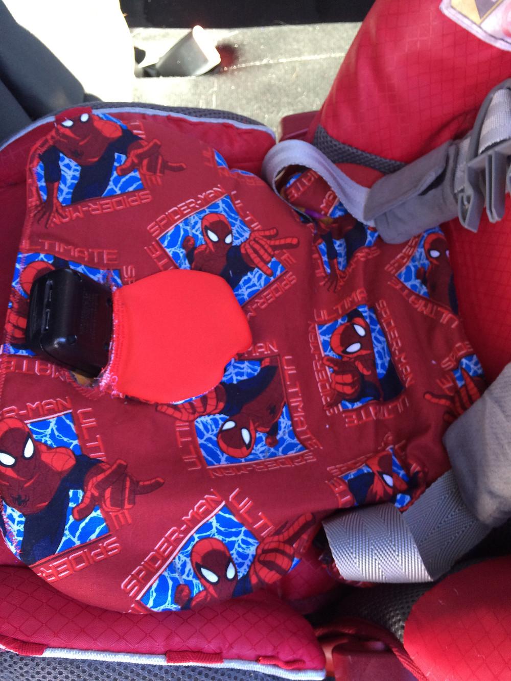 Tutorial DIY car seat pee pad