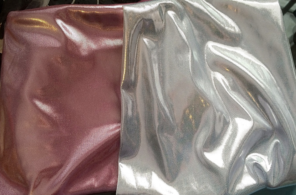 Liquid metal fabric from fabricville