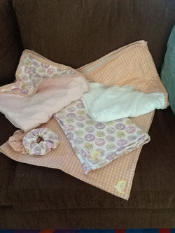 Baby towels,face clothes and bottle bibs