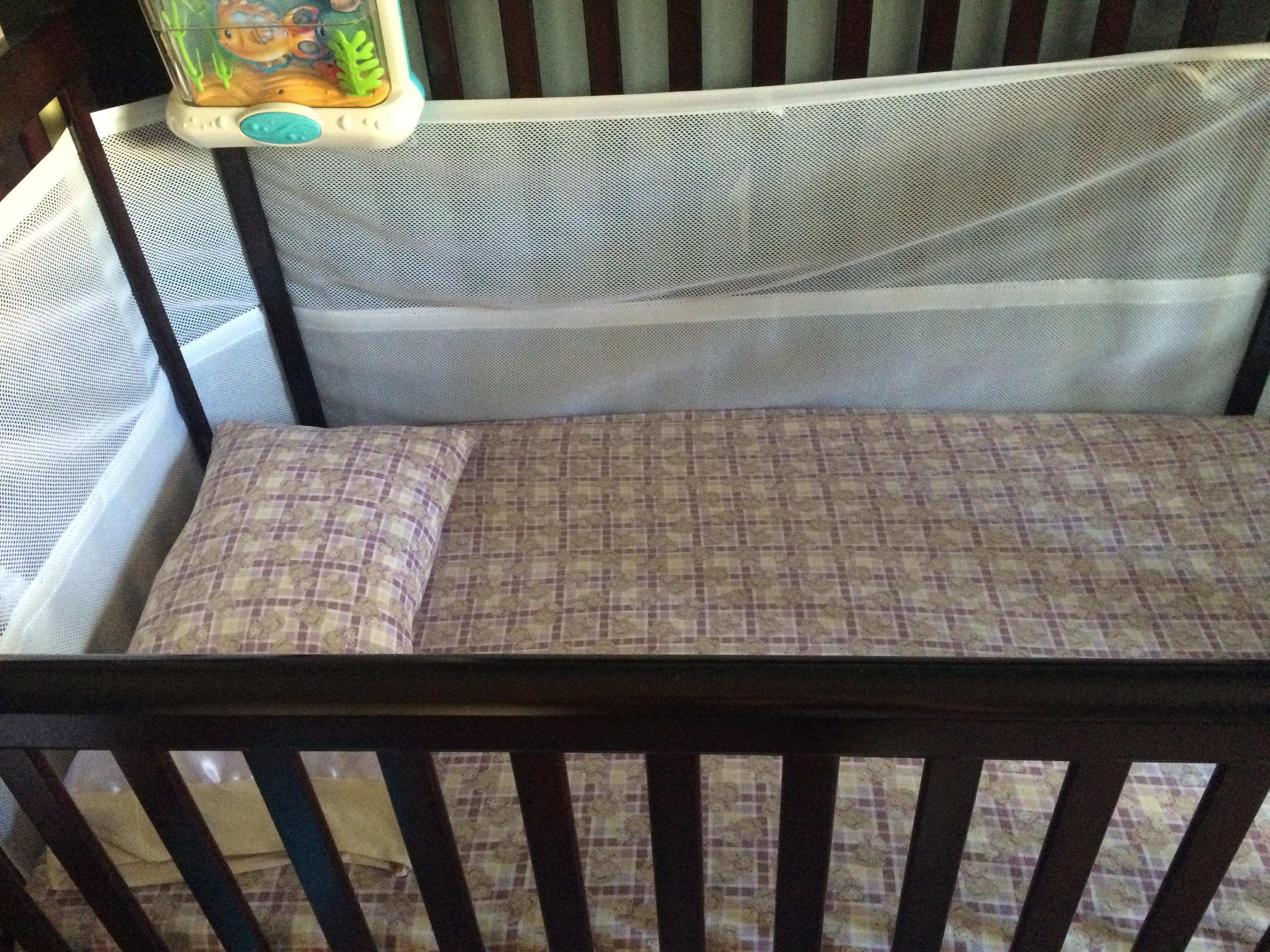 Crib sheet and pillowcase