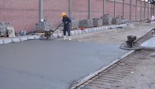 Slag aggregate using in concrete flooring