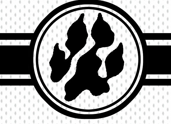 Paw on Jersey - Tablet Background