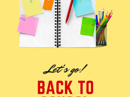 Youth Center Theme #1: Back to School