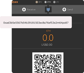 Ether wallet address