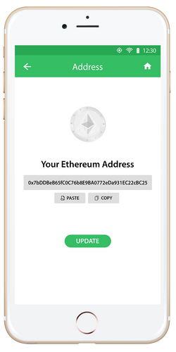 Enter your Ethereum wallet address