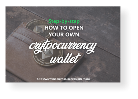 How to open your cryptocurrency wallet