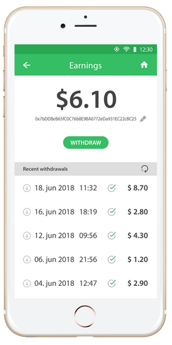 Make money on your smartphone with Microwork App