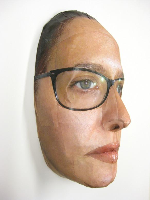 Maske³ Brille Schwarz