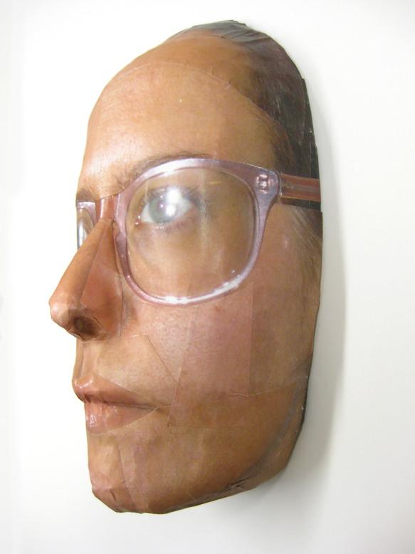 Maske³ Brille Rosa