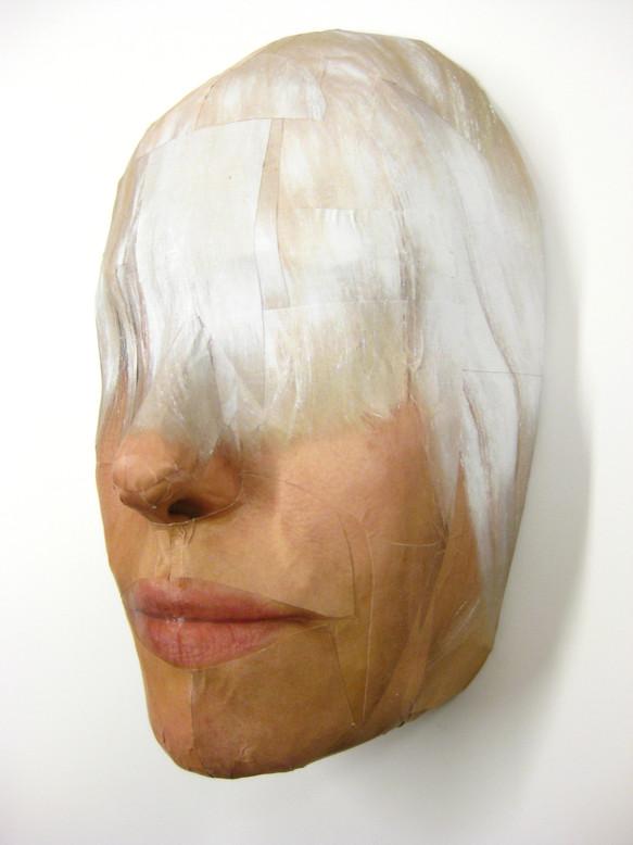 Maske³ Haar Weiß