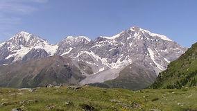 Ortler, Zebru und Königsspitze